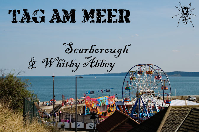 (M)ein Tag am Meer - Scarborough und Whitby Abbey - Zebraspider DIY Blog