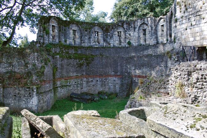So lebt es sich in York - römische Mauer - Zebraspider DIY Blog