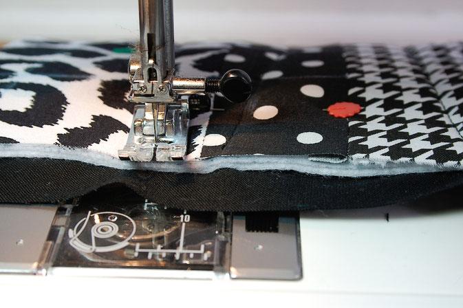 Ofenhandschuhe und Topflappen mal anders - quilten - Zebraspider DIY Blog