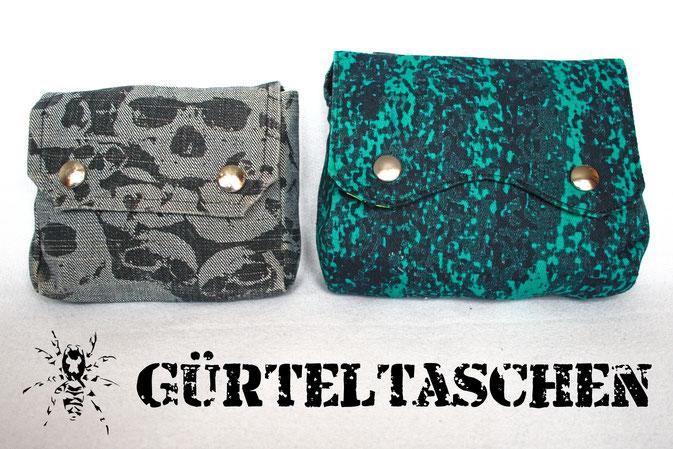 Die Evolution der Gürteltasche + Umfrage - Zebraspider DIY Blog