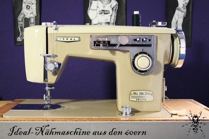 Ideal Voll Zick Zack Deluxe Nähmaschine