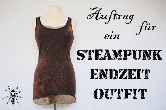 Auftrag für ein Steampunk-Endzeit-Outfit - Zebraspider DIY Blog