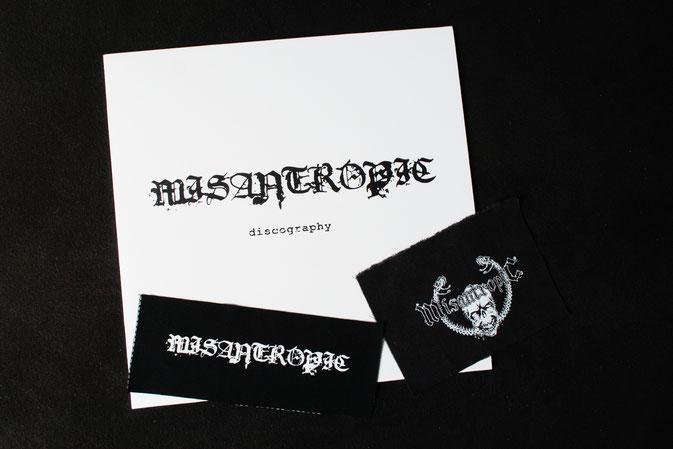 MPF Entdeckungen + Bandshirt-Upgrade - Misantropic Platte und Patches - Zebraspider DIY Anti-Fashion Blog