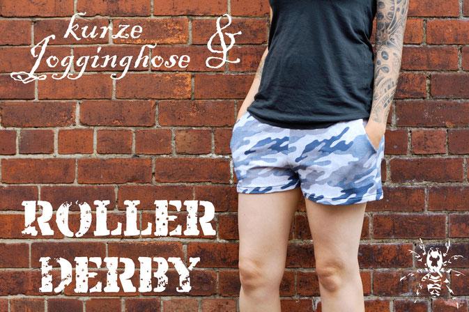 Kurze Jogginghose und Roller Derby - Zebraspider DIY Anti-Fashion Blog