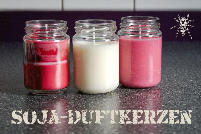 DIY Geschenkidee - Soja-Duftkerzen gießen