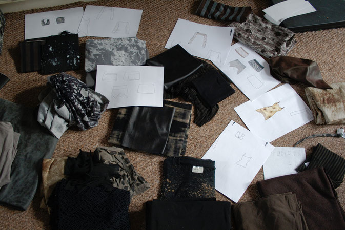 Neuigkeiten von der Kollektion und mehr! - Entwürfe und Stoffe -  Zebraspider DIY Anti-Fashion Blog