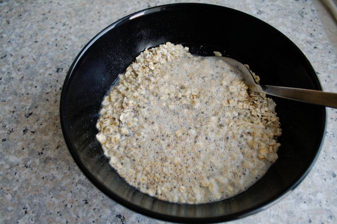 Mein englisches Frühstück - Porridge Rezept - Zebraspider DIY Blog