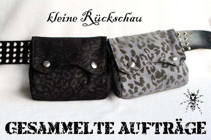 Kleine Rückschau - Gesammelte Aufträge - Zebraspider DIY Anti-Fashion Blog