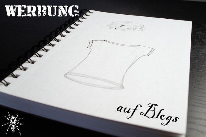 Warum ein werbefreier Blog - Zeichnung - Zebraspider DIY Anti-Fashion Blog