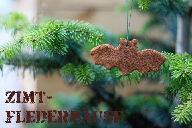 Zimt-Fledermäuse für Halloween (oder Weihnachten) - Zebraspider DIY Anti-Fashion Blog