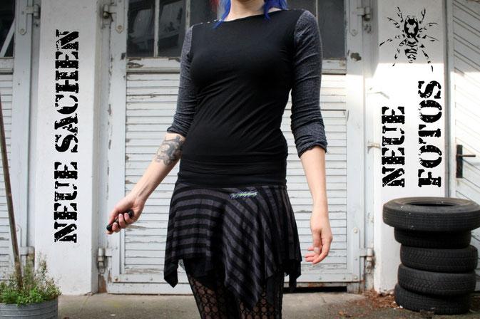 Shrugs, Röcke und Gürteltaschen von Zebraspider DIY Anti-Fashion