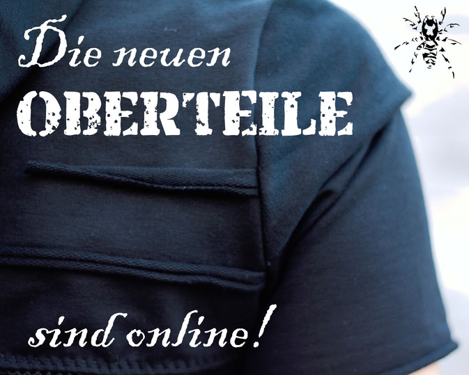 Die neuen Tops, Shirts und Shrugs sind online! - Zebraspider DIY Anti-Fashion Blog