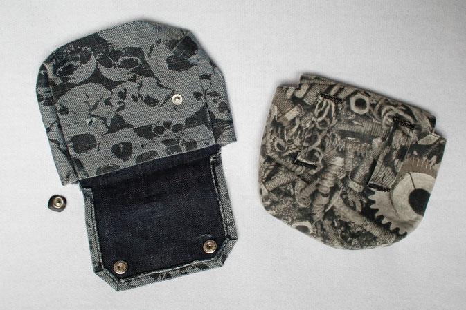 Die Evolution der Gürteltasche - erste Versionen - Zebraspider DIY Blog