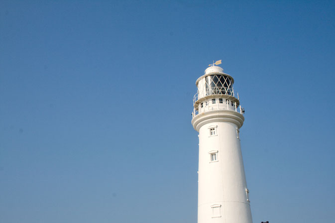 Photos from the Yorkshire seaside - Flamborough Lighthouse - Zebraspider DIY Blog