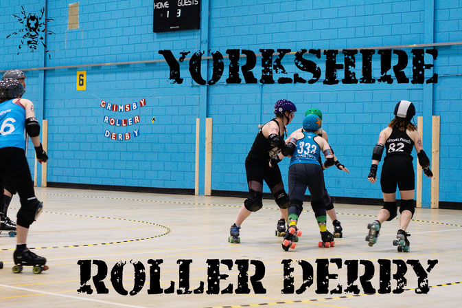 Yorkshire Roller Derby mit den Minxters - Zebraspider DIY Anti-Fashion Blog