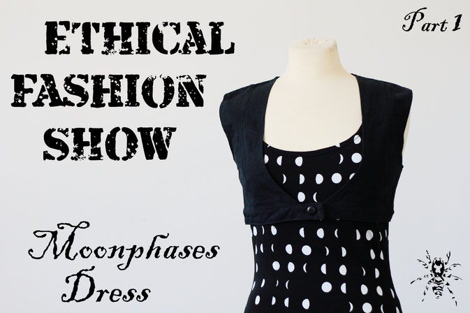 Ethical Fashion Show - Mondphasen Outfit - Zebraspider DIY Anti-Fashion Blog