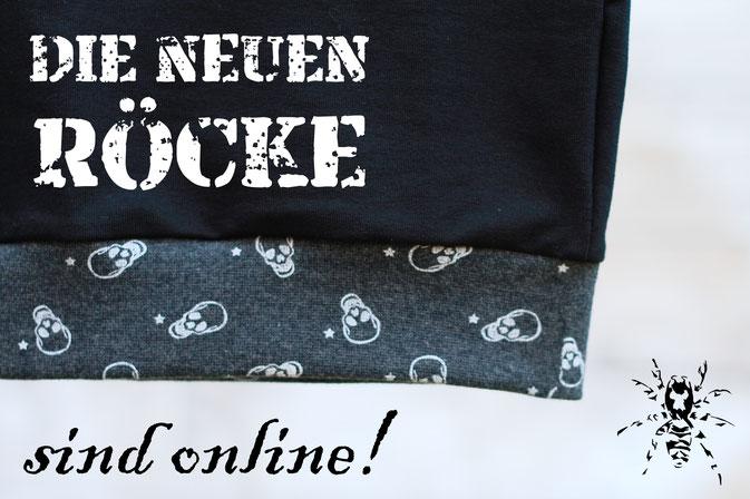 Die neuen Röcke sind online! - Gothic / Punk Miniröcke 2018 - Zebraspider DIY Anti-Fashion Blog