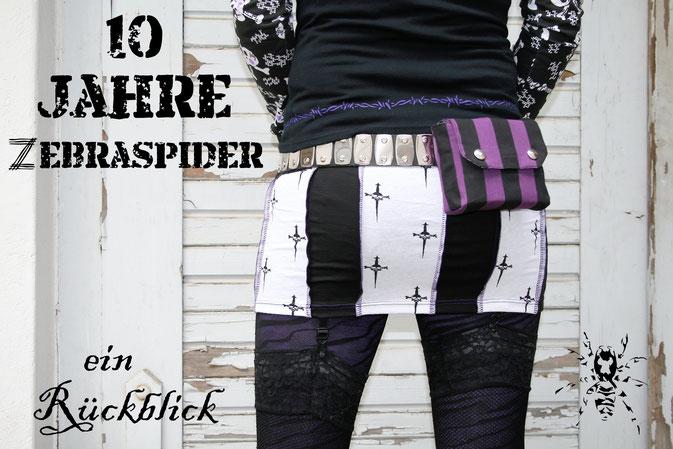 10 Jahre Zebraspider - ein Rückblick - Zebraspider DIY Anti-Fashion Blog