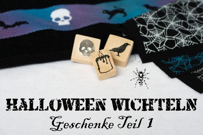 Halloween Wichteln - Geschenke Teil 1 - Zebraspider DIY Anti-Fashion Blog