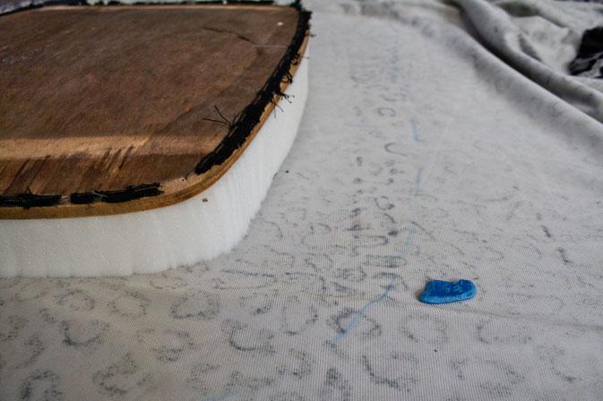 Leo-/Zebrafellstühle - Stoff ausmessen- Zebraspider DIY Blog