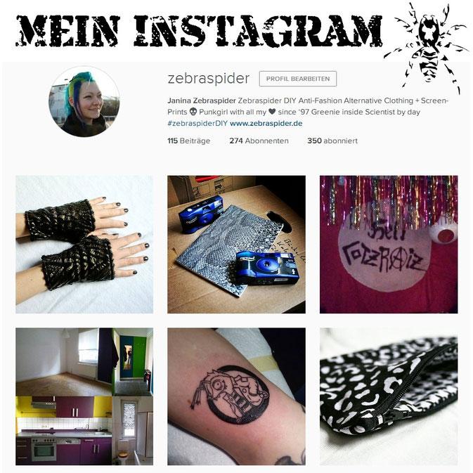 Warum ich gerade so auf Instagram stehe - du auch? - Zebraspider Blog