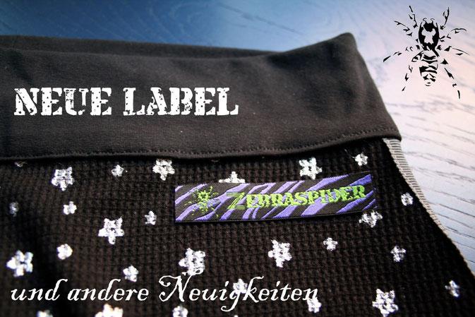 Die neuen Zebraspider Label und andere Neuigkeiten