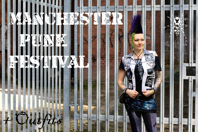 Manchester Punk Festival + Outfits - Zebraspider DIY Anti-Fashion Blog