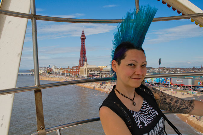 Rebellion Festival and Blackpool 2016 - Riesenrad und Tower - Zebraspider DIY Blog