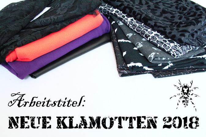 Arbeitstitel: Neue Klamotten 2018 - Zebraspider DIY Anti-Fashion Blog