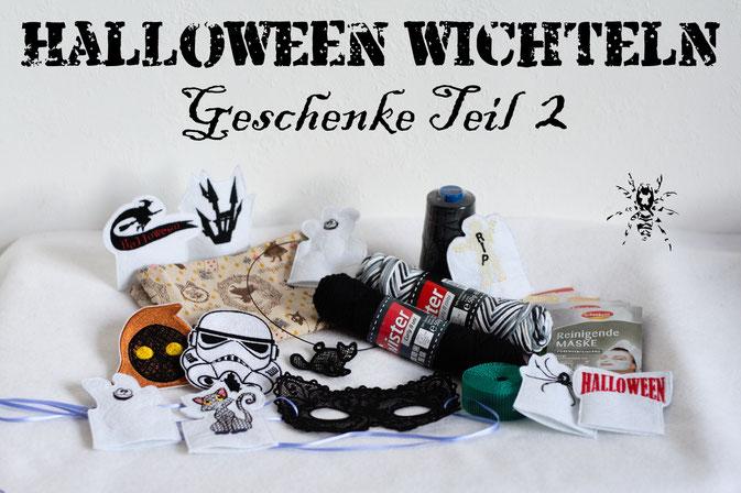Halloween Wichteln - Geschenke Teil 2 - Zebraspider DIY Anti-Fashion Blog