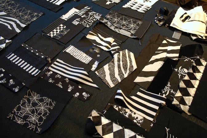 Punk Patchwork - Mug Rug nähen und mehr - Stoffreste - Zebraspider DIY Blog