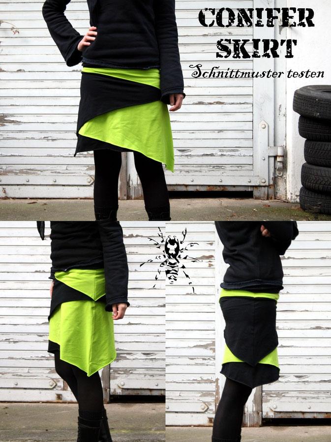 Conifer Skirt - Schnittmuster testen - von SeamstressErin Designs