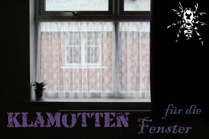 Coole Klamotten auch für die Fenster - Zebraspider DIY Anti-Fashion Blog