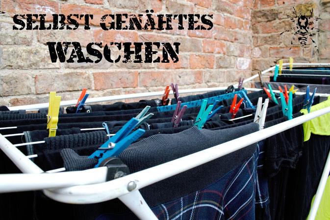 Wie wasche ich selbst genähte Sachen? + Mikroplastik vom Waschen - Zebraspider DIY Anti-Fashion Blog
