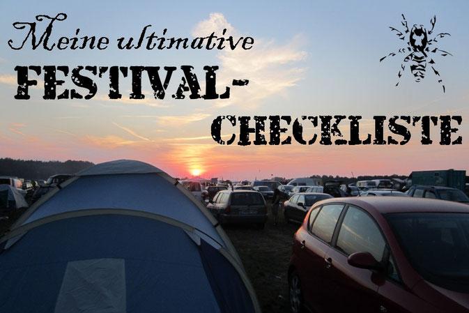 Meine ultimative Festival-Checkliste