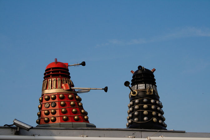 Photos from the Yorkshire seaside - Daleks in York - Zebraspider DIY Blog