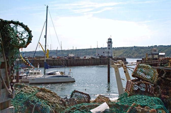 (M)ein Tag am Meer - Scarborough Hafen und Leuchtturm - Zebraspider DIY Blog