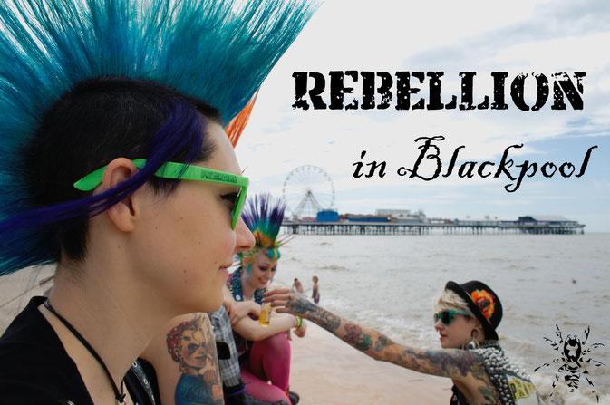 Rebellion Festival and Blackpool 2016 - Zebraspider DIY Blog