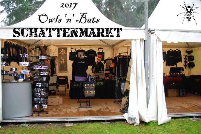 Schattenmarkt des Owls 'n' Bats 2017 - Zebraspider DIY Anti-Fashion Blog