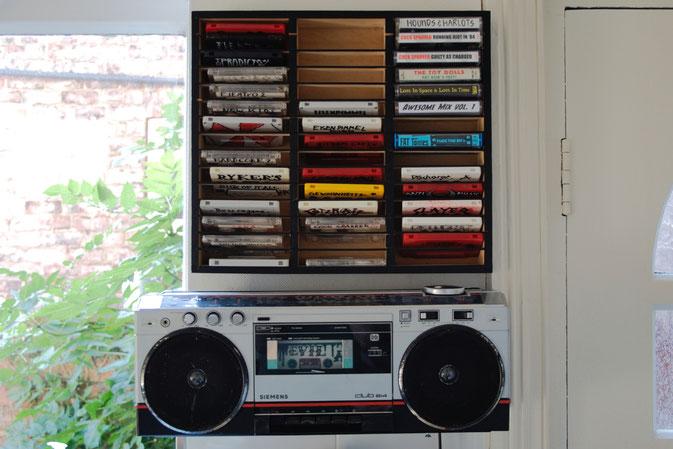DIY zu Hause - so lebe ich - Küchen-Kasi und Kassetten - Zebraspider DIY Blog