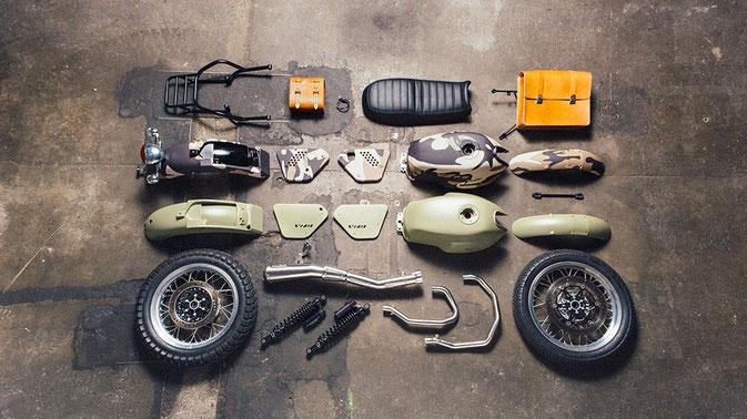 Custom Moto Guzzi V7 Kits
