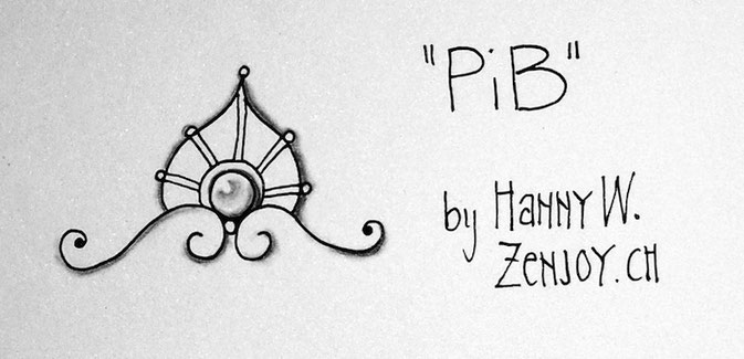 PiB pattern by Zenjoy Zentangle