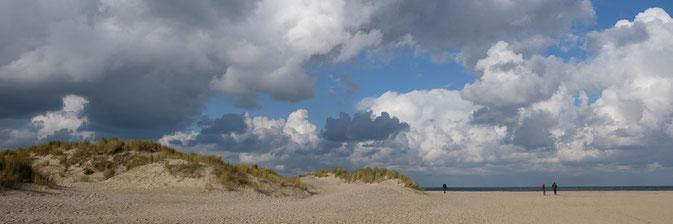 Banjaardstrand bei Kamperland auf der Insel Noord-Beveland, Zeeland