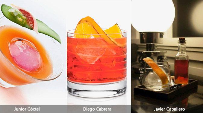 """""""Negroni"""",""""Diego cabrera"""",""""junior coctel"""",""""javier caballero"""",""""cocteleria"""""""