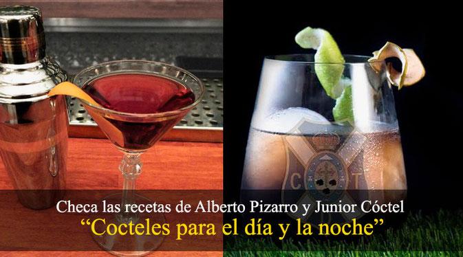 Cocteles para el dia y la noche by Alberto Pizarro y Junior Cóctel
