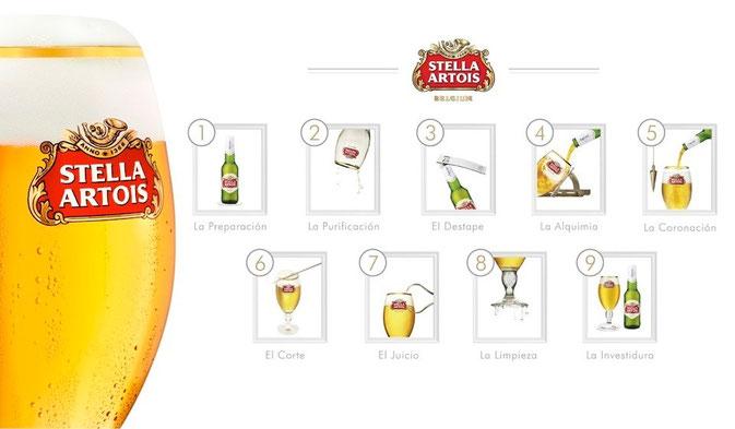 Ritual de los 9 pasos de la perfeccion by Stella Artois