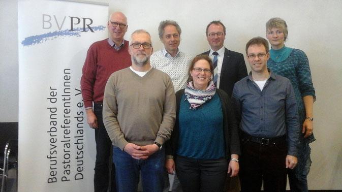 hintere Reihe v. l. :  J. Hesper (Beisitzer), M. Holzner-Kindlinger (1. Vorsitzender), H. Schneider (2. Vorsitzender), A. Schulze (Beisitzerin) vordere Reihe v. l. : T. Pannen (01/2017 ausgeschieden), S. Oechsle (Kassiererin), T. Hilberink (Schriftführer)