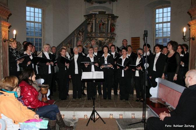 Gemischter Chor Seebach - Adventskonzert 2014 in der Kirche zu Seebach
