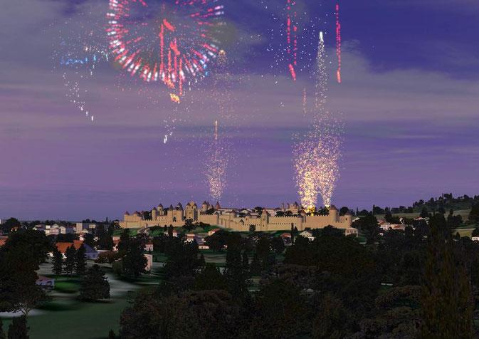 Carcassonne 14 Juillet