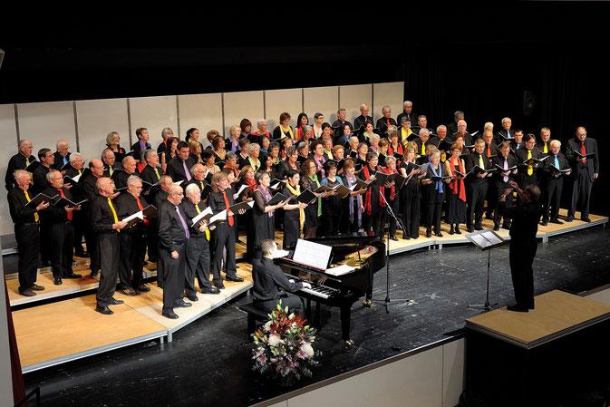 Jubiläumschor 2011 im Forum im Ried